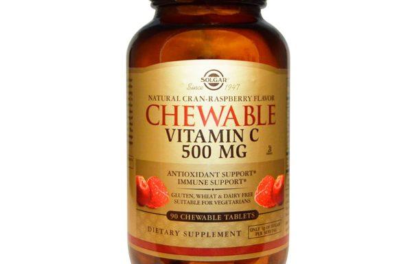 Vitamina C masticable 500 mg | Solgar